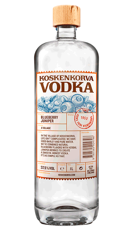 Koskenkorva Vodka Blueberry Juniper