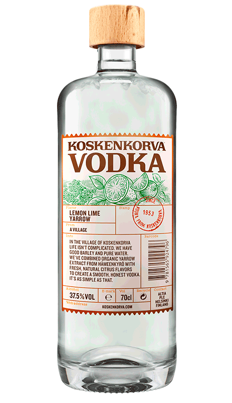 Koskenkorva Vodka Lemon