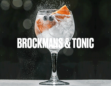 brockmans & tonic