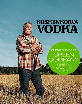 KOSKENKORVA - HONEST VODKA MADE SUSTAINABLY