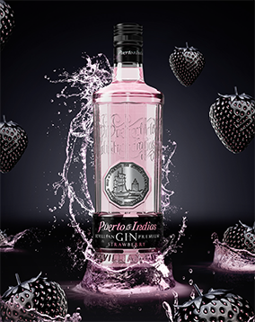 Puerto de Indias strawberry gin toasts to new listings